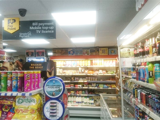 Convenience Store LED Lighting Case Study - After