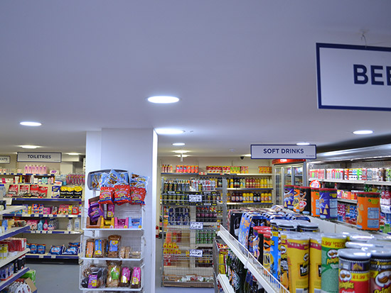Retail/Convenience Store LED Lighting Case Study - After