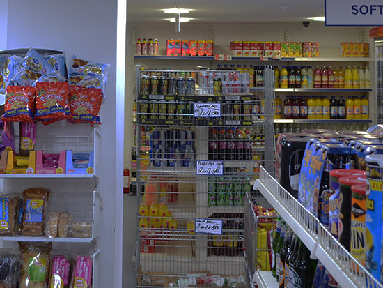 Retail/Convenience Store LED Lighting Case Study - Before