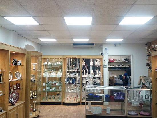 Retail Store LED Lighting Case Study - After