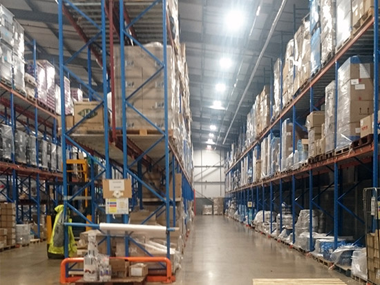 Food Packing Plant LED Lighting Case Study - Zone 2 - After